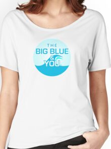 The Big Blue Logo Women's Relaxed Fit T-Shirt