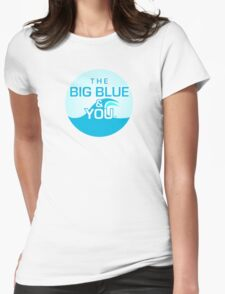 The Big Blue Logo Womens Fitted T-Shirt