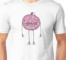 Spooky Monsters - short grape Unisex T-Shirt