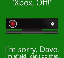Kinect 9000 - Poster by droodle