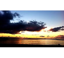 Haleiwa Sunset Photographic Print