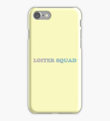 Loiter Squad Logo iPhone Case/Skin
