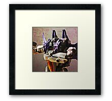 Skywarp Portrait Framed Print
