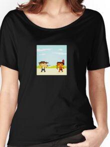 1891 (Cowboys and Indians) Women's Relaxed Fit T-Shirt