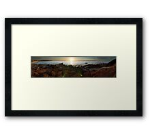Hallett Cove Beach Framed Print