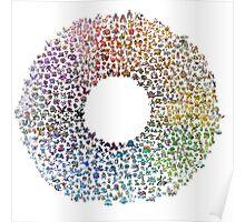 Pokemon Colorwheel Poster