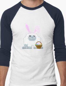 Cute Easter Yeti Men's Baseball ¾ T-Shirt