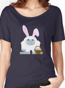Cute Easter Yeti Women's Relaxed Fit T-Shirt