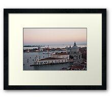 Dusk Over Venice Framed Print