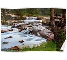 Noble falls, Perth hill's , Western Australia Poster
