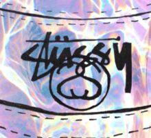 Soft Grunge Stussy Hat Sticker