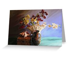 Still Life with Shell Greeting Card