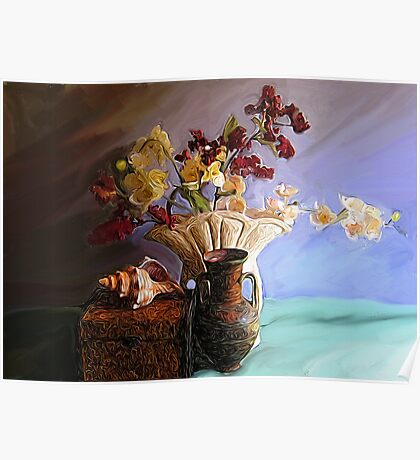 Still Life with Shell Poster