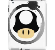 Black Super Mushroom iPad Case/Skin