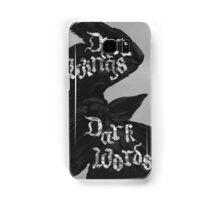 Dark Wings, Dark Words Samsung Galaxy Case/Skin