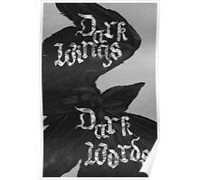 Dark Wings, Dark Words Poster