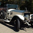 Rolls Royce Silver Ghost - pre 1919 model by Bev Pascoe