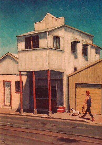 Walking the Dog - South Johnstone by Cary McAulay