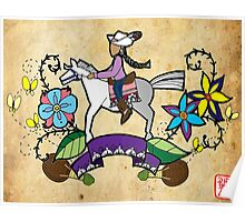 cow girl up Poster