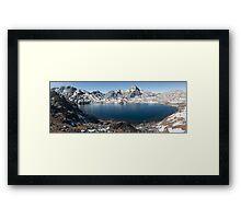Sacred lake  Framed Print