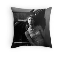 Don't Go, Don't Leave. Throw Pillow