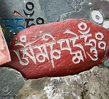 Buddhist Prayer Stones by idoavr
