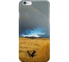 Pixie the work dog finds the rainbow - Jindabyne iPhone Case/Skin