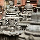 Monkey Temple, Nepal  by idoavr