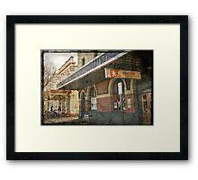 White Star Hotel - Albany Framed Print