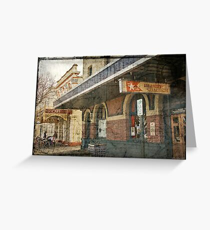 White Star Hotel - Albany Greeting Card