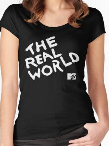 MTV The Real World Women's Fitted Scoop T-Shirt