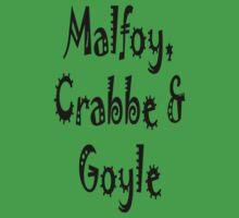 Malfoy, Crabbe & Goyle Kids Clothes