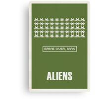 Aliens Canvas Print