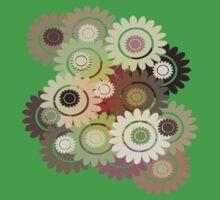 Clockwork Flowers T-Shirt Baby Tee