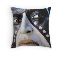 Native Sculpture Throw Pillow