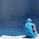 Mystic Lake, Bundy Amir, Afghanistan by yoshiaki nagashima