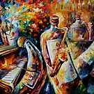SURREAL MUSIC by Leonid  Afremov