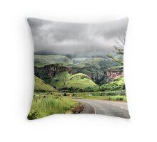 Near Graskop Throw Pillow