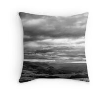 End of the day BW Throw Pillow