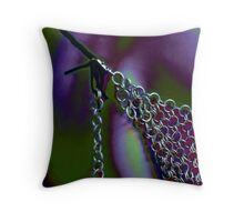 Steel secrets Throw Pillow