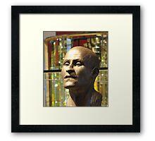 Egyptian Bust Framed Print