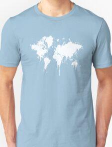 World Splash Map Unisex T-Shirt