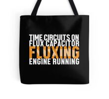 Back To The Future - Fluxing - White Clean Tote Bag