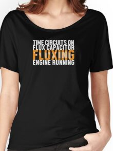 Back To The Future - Fluxing - White Clean Women's Relaxed Fit T-Shirt