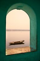 Varanasi, river view by Mark Smart