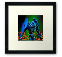 Soundwave Portrait Framed Print
