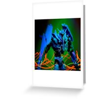 Soundwave Portrait Greeting Card
