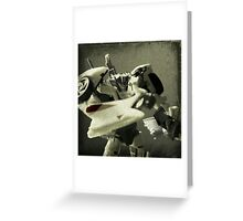 Wheeljack Portrait Greeting Card