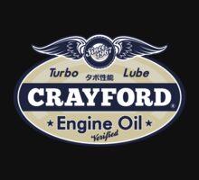 Crayford Engine Oil One Piece - Short Sleeve