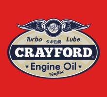 Crayford Engine Oil Kids Clothes